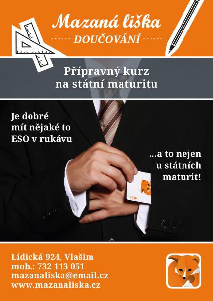 Propagační materiál - maturity
